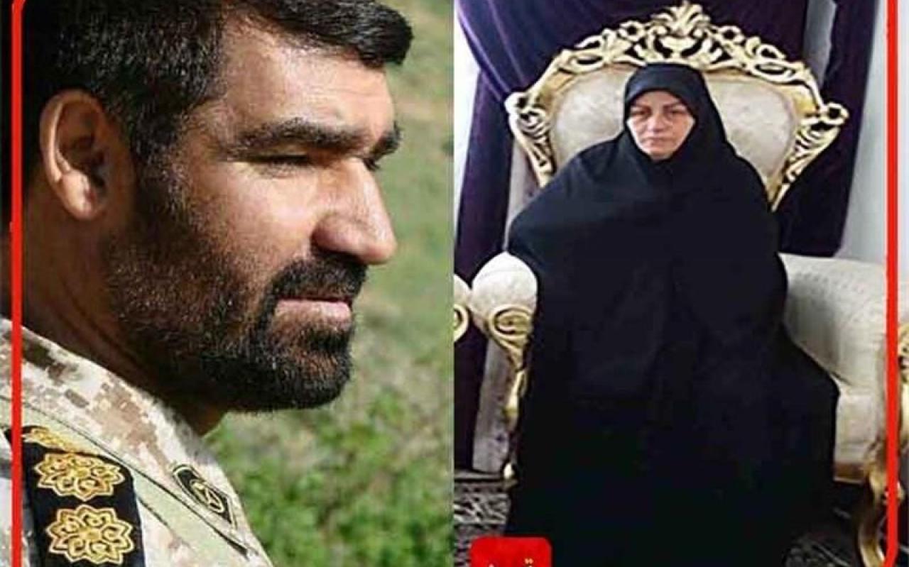 """تصویر از عاشقانههای همسر شهید مدافع حرم؛ عشق شهید """"شمسه"""" به امام خامنهای کمنظیر بود"""
