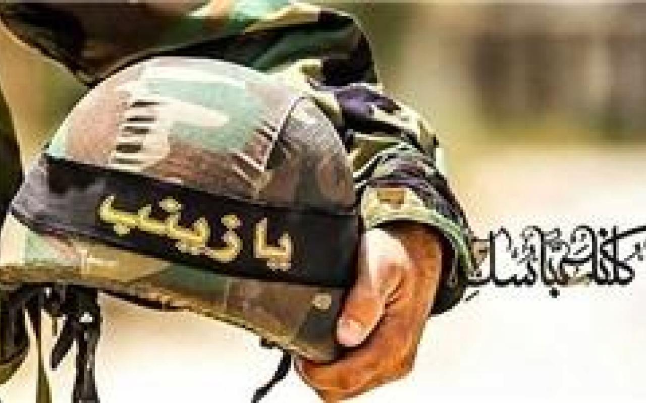 تصویر از پیکر ۲ شهید مدافع حرم در ورامین آرام گرفت