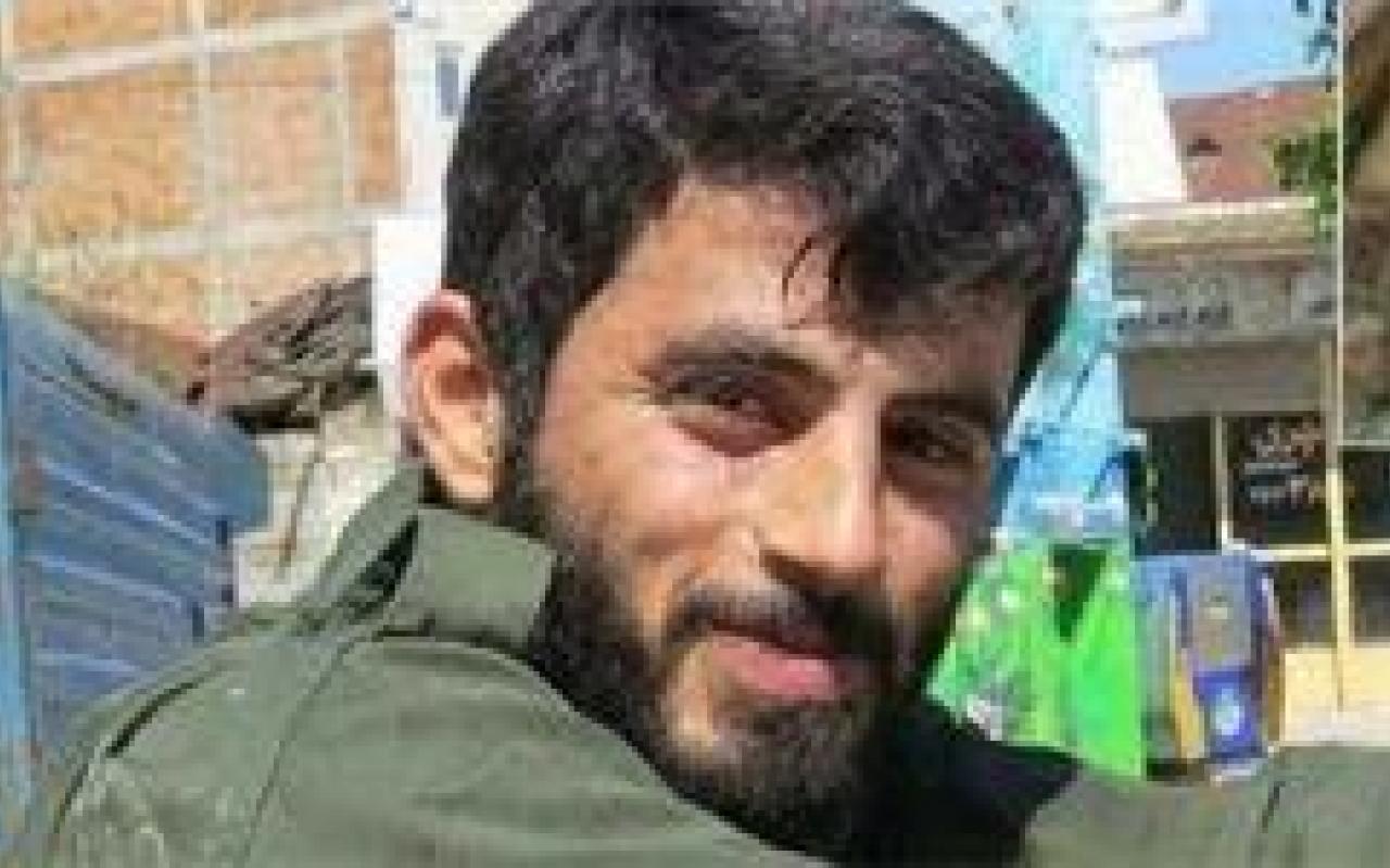 تصویر از اعلام خبر رسمی شهادت سعید کمالی به خانواده این شهید مدافع حرم