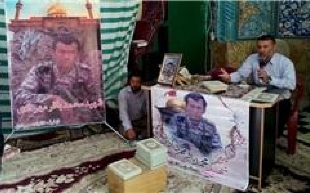 تصویر از خون شهدای مدافع حرم باعث روشنگری جبهه حق و باطل است