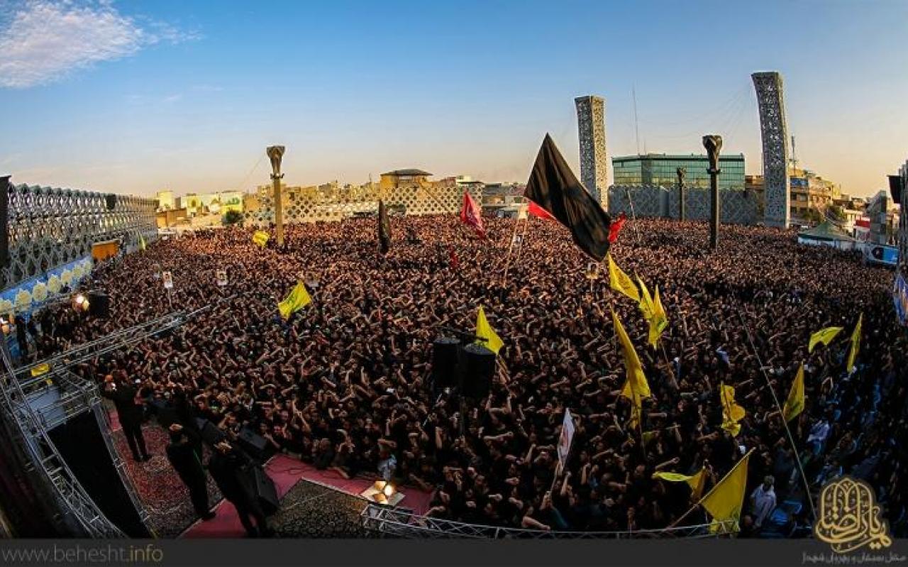 تصویر از شانزدهمین اجتماع مدافعان حرم