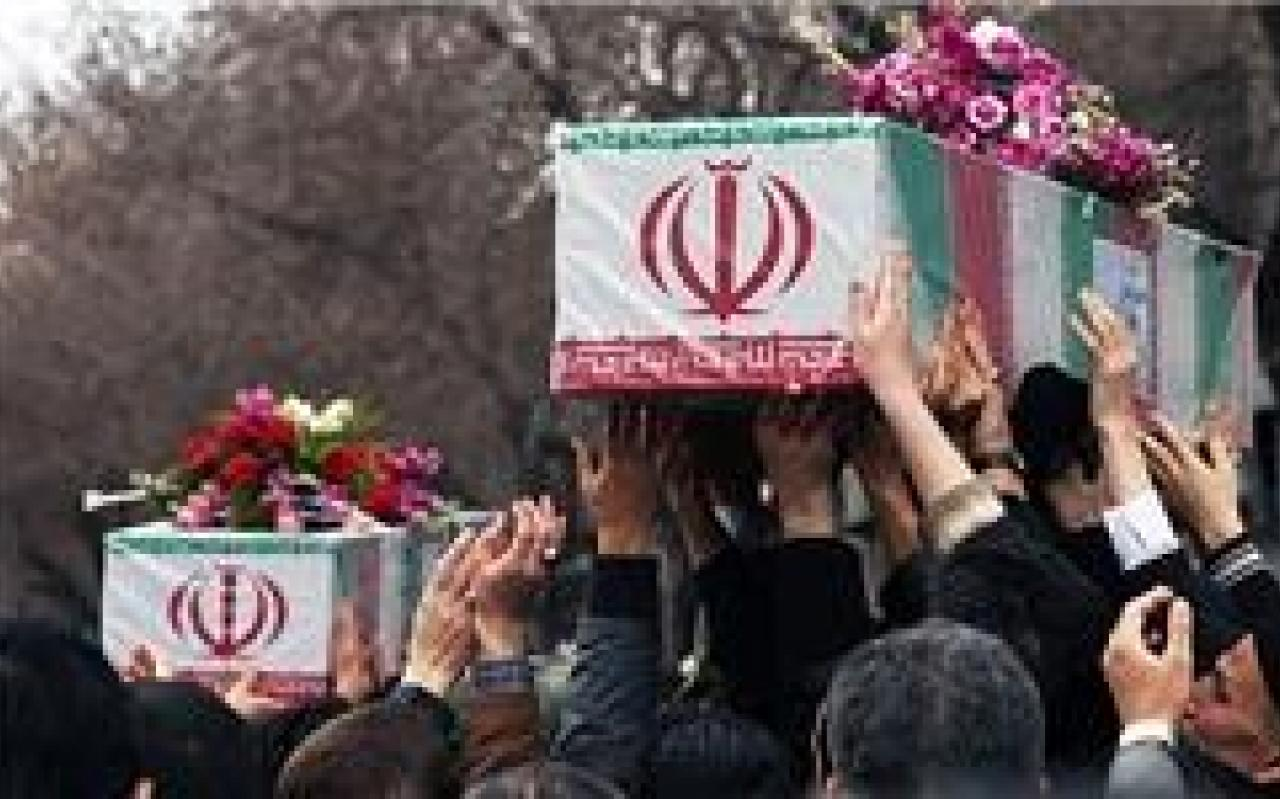 تصویر از تشییع پیکر ۲ شهید مدافع حرم لرستانی پایان هفته جاری