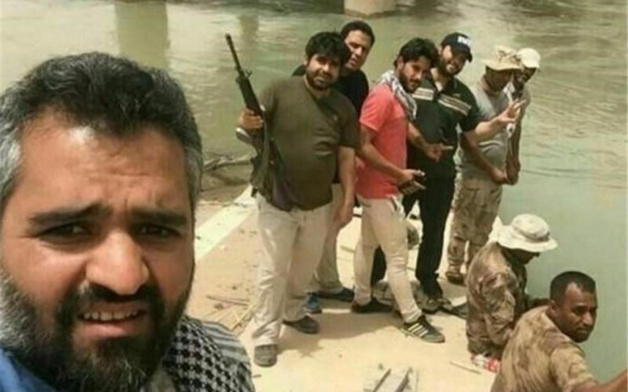 تصویر از اظهار نظر علی صالحی در مورد حضور امیر نوری در جمع مدافعان حرم