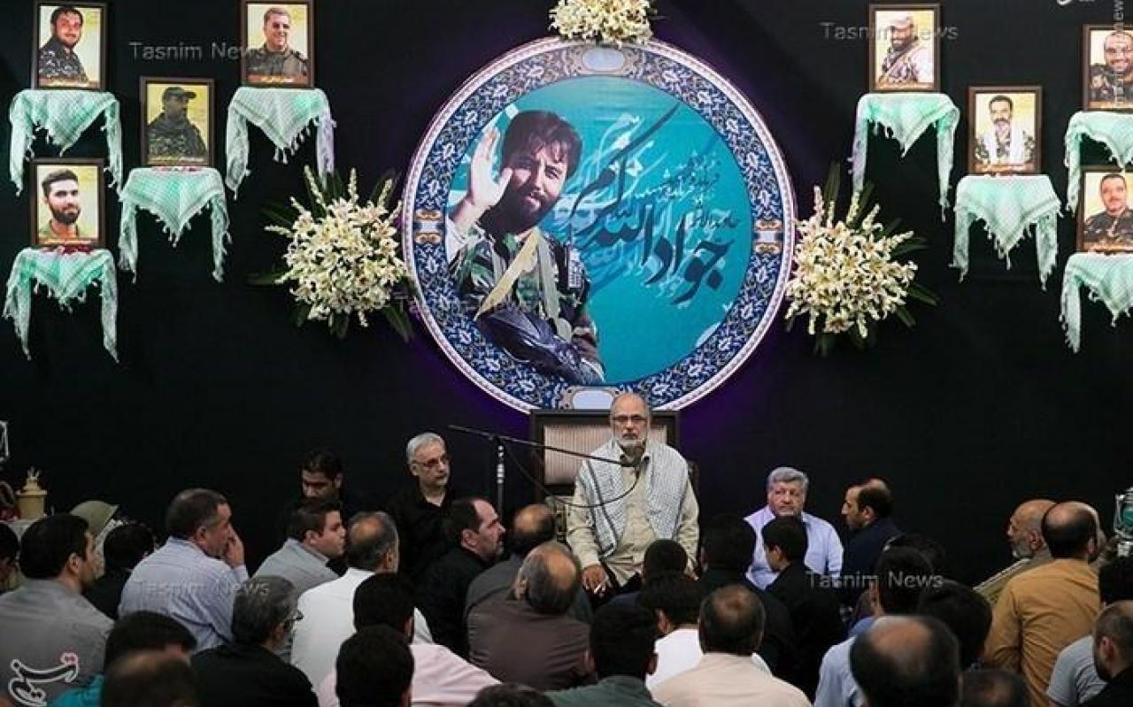 تصویر از عکس/ مراسم یادبود شهید مدافع حرم جواد الله کرم
