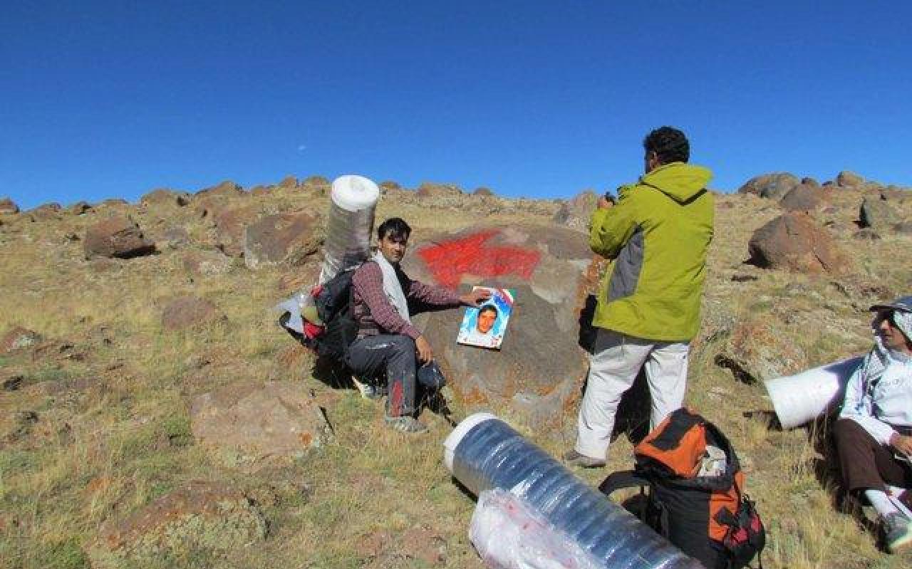 تصویر از نامگذاری موقعیتهای کوه سبلان به نام شهدای مدافع حرم
