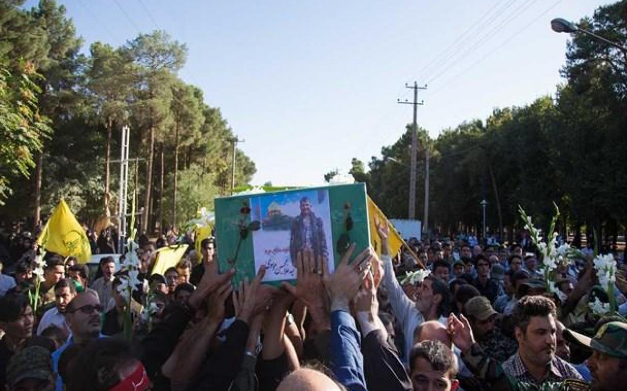 تصویر از تصاویر/ تشییع باشکوه پیکر شهید مدافع حرم در یزد