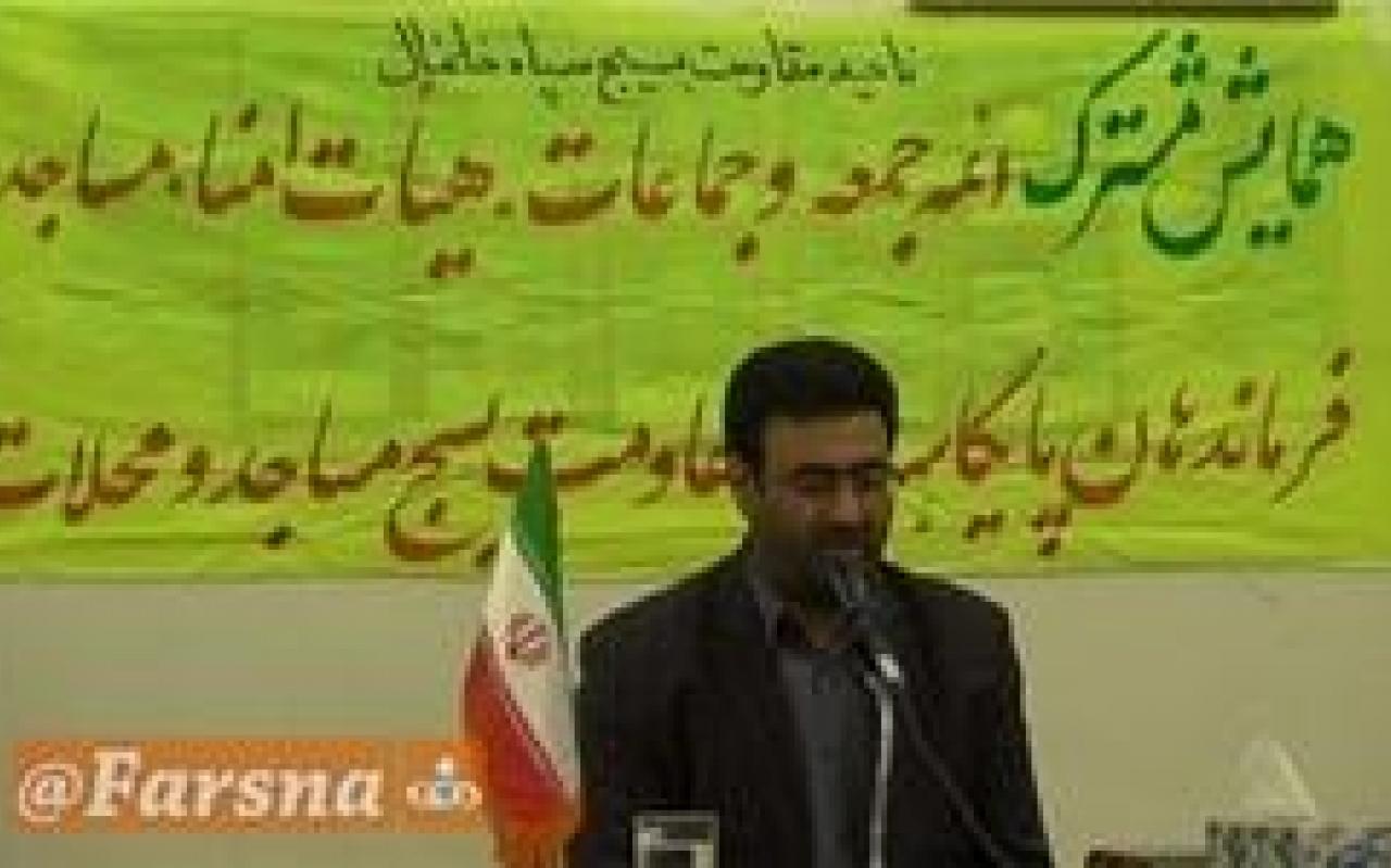 تصویر از امنیت امروز نتیجه زحمات رزمندگان مدافع حرم است