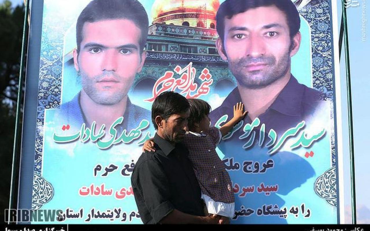 تصویر از عکس/ تشییع پیکر شهدای مدافع حرم در یزد