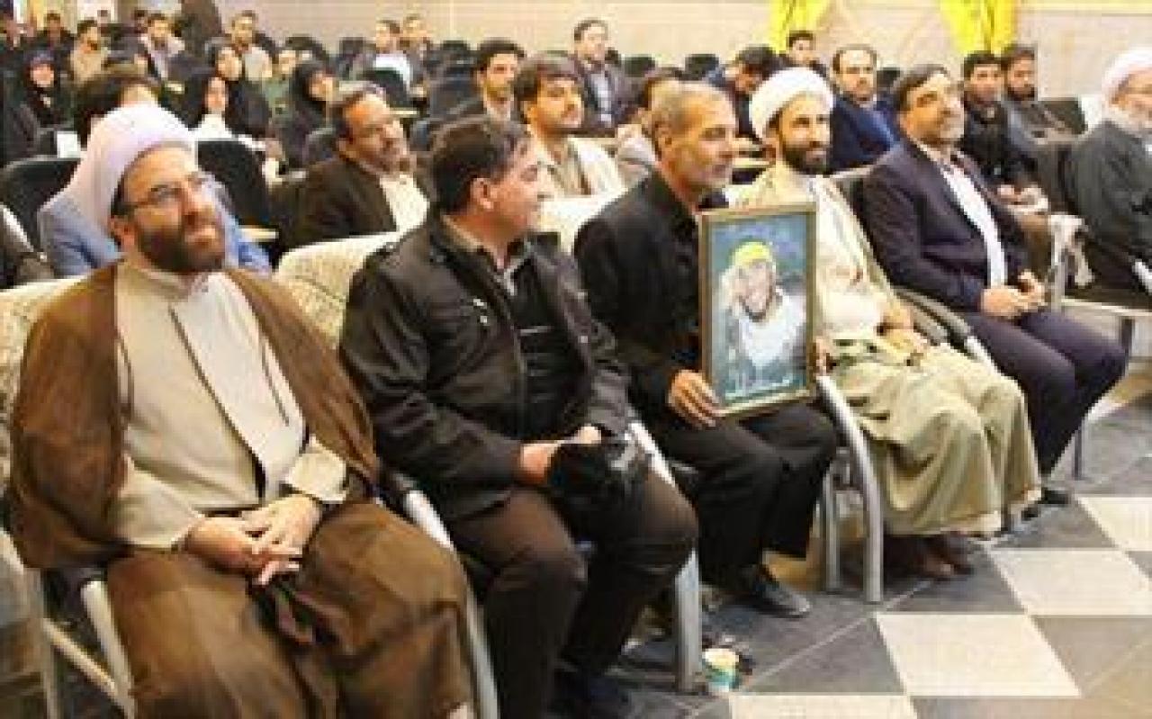 تصویر از تجلیل از خانوادههای شهدای مدافع حرم در دانشگاه صنعتی قم