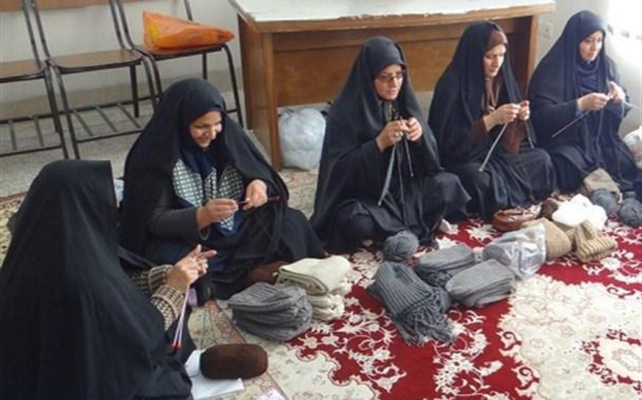 تصویر از اجرای طرح عمار در شهر حسن آباد/ نقش زنان حسن آبادی در دفاع از مدافعان حرم