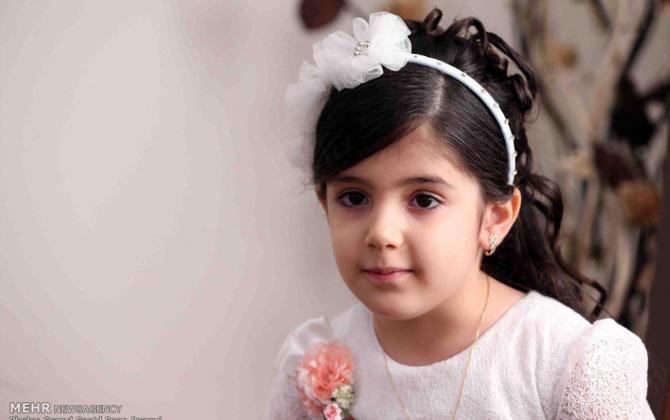 تصویر از فرشته های کوچک یک شهید+عکس