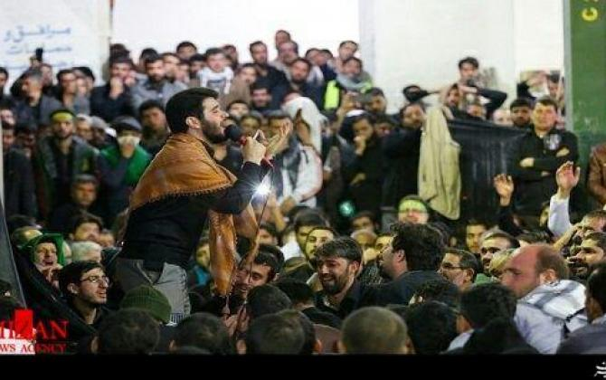 """تصویر از مداحی """"ایران، بازم پر از شهیده"""" با صدای میثم مطیعی + صوت"""