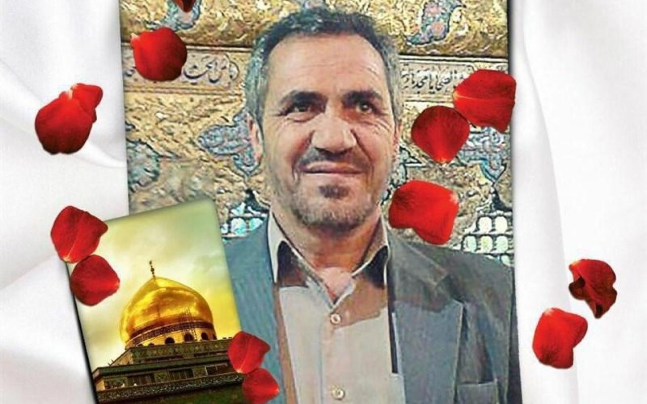 تصویر از پیکر نخستین شهید مدافع حرم در شهر واوان اسلامشهر تشییع شد