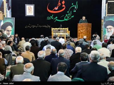 تصویر از برگزاری چهارمین سالگرد سردار شهید «حسن شاطری»