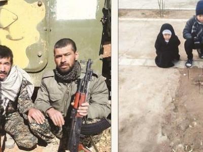 تصویر از شهید مدافع حرمی که سنگ مزار ندارد