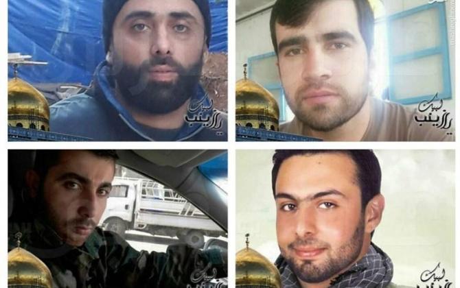 تصویر از مدافعان حرم لبنانی که ماه گذشته به شهادت رسیدند + عکس