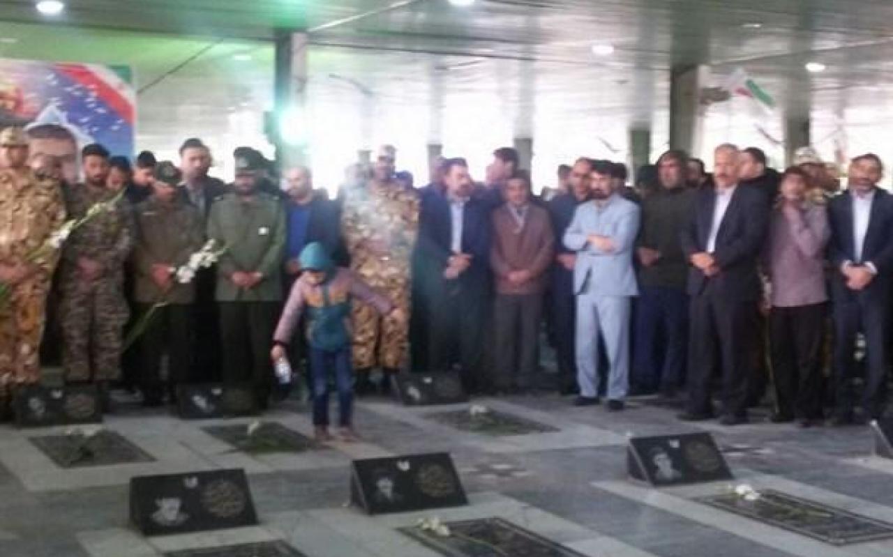 تصویر از اولین سالگرد سردار شهید احمد مجدی برگزار شد