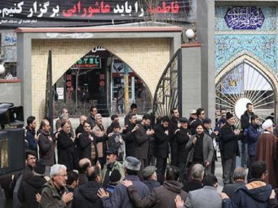 تصویر از تجمع فاطمیون در تبریز برگزارشد
