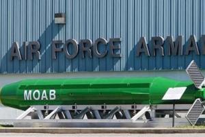 """تصویر از نیوزویک: """"طالبان"""" برنده نهایی پرتاب بمب آمریکا در افغانستان است"""