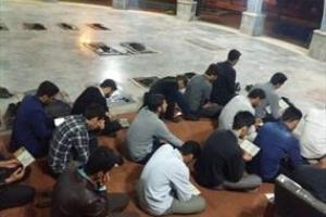 تصویر از تجدید میثاق دانشجویان دانشگاه آزاد ایلام با شهدای گمنام + تصاویر