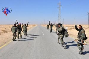 تصویر از پیشروی سریع نیروهای سوری در حمص