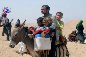 تصویر از آزادسازی چند روستای ایزدی به دست الحشد الشعبی