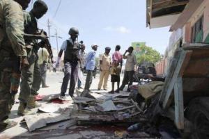 تصویر از ۵ کشته در حمله انتحاری داعش در سومالی