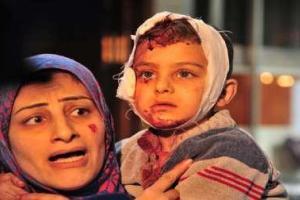 تصویر از داعش ساکنان روستای عقارب الصافیه استان حماه را قتل عام کرد