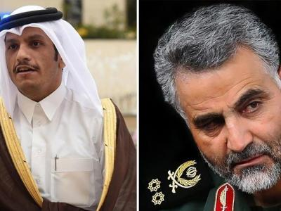 تصویر از «قاسم سلیمانی قطر را هک کرده است»