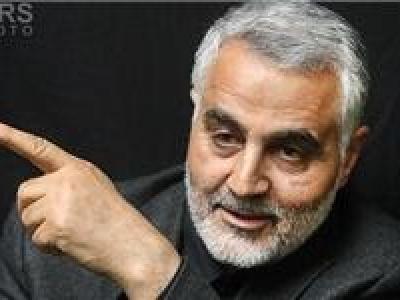 تصویر از قاسم سلیمانی قویترین مرد خاورمیانه است