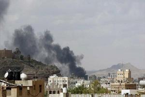 تصویر از یورش سعودیها به «الجمله» تعز/۵ نفر شهید و زخمی شدند