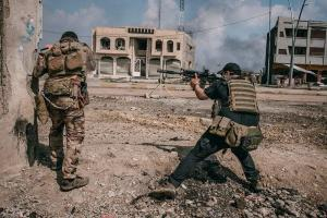 تصویر از حشد الشعبی ۶ روستای غرب موصل را آزاد کرد