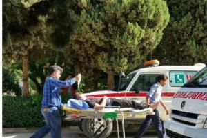 تصویر از چرخ گوشت آلوده عامل مسمومیت دانشجویان یزد/تمامی مسمومین مرخص شدند