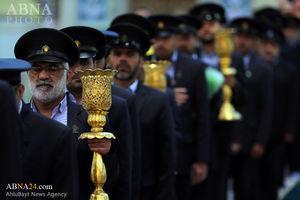 تصویر از عکس/خطبه خوانی خادمان حرم حضرت معصومه(س)