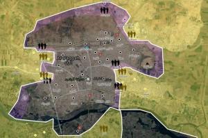 تصویر از سوریۀ دموکراتیک مدعی شد … محاصرۀ همهجانبۀ داعش در رقه