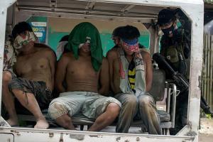 تصویر از بازداشت چند داعشی در فیلیپین