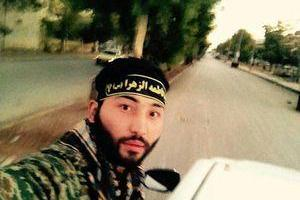 تصویر از عکس/ شهادت مسول اطلاعات تیپ فاطمه الزهرا (س) در عراق