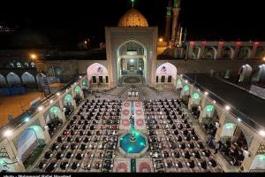 تصویر از مراسم جزء خوانی در حرم هلال بن علی(ع) – آران و بیدگل   تصاویر