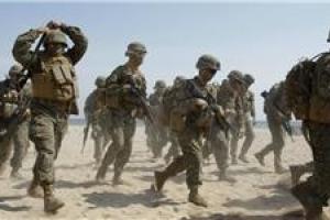 تصویر از پشت پرده تحرکات جدید آمریکا در صحرای الانبار عراق