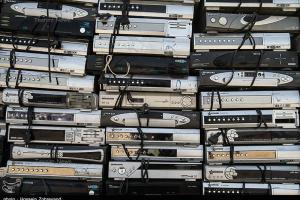 تصویر از قاچاق ۱۰ هزار دستگاه رسیور ماهواره توسط یک شرکت حمل و نقل بین المللی
