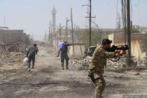 تصویر از 'حی الفاروق' در بخش قدیم شهر موصل آزاد شد