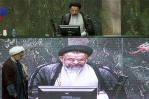تصویر از جلسه غیر علنی مجلس با حضور وزرای اطلاعات و کشور