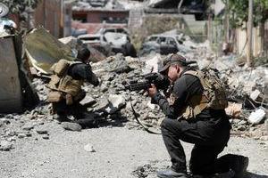 تصویر از عکس/ نبرد با تروریستهای داعشی در موصل
