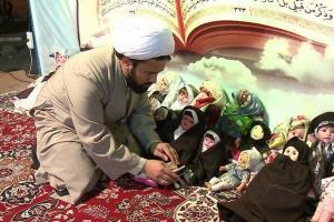 تصویر از عزم راسخ روحانی شاهرودی در تبلیغ دین/ وقتی عروسکها حجاب می کنند