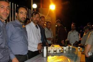 تصویر از سنت حسنه افطاری ساده در شاهین شهر/ تصاویر