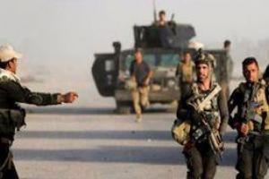 تصویر از خنثی سازی ۲۳ خودروی بمب گذاری شده داعش در موصل