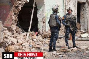 تصویر از کشف و انهدام دو کارگاه ساخت بمب در موصل
