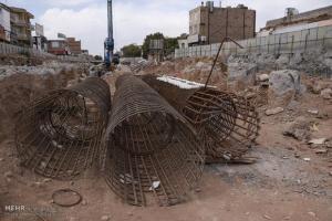 تصویر از تقاطع غیرهمسطح شهید سردار حسین بادپا ۴۹ درصد پیشرفت فیزیکی دارد