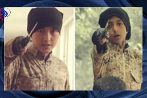 تصویر از کودکان جلاد، در ویدیوی جدید داعش!