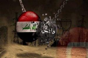 تصویر از هلاکت ۵۰ داعشی در حملات جنگنده های عراقی
